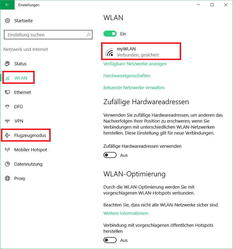 Windows 9 WLAN konfigurieren - DasHeimnetzwerk.de