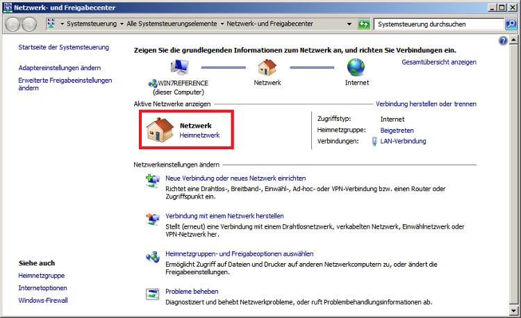 Windows 7 Arbeitsgruppe Einrichten Dasheimnetzwerkde